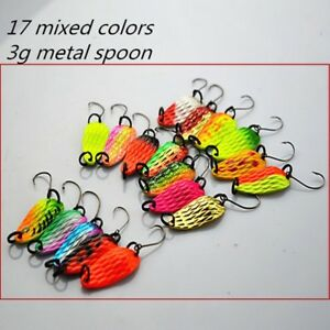 Fishing Tackle Bait Fishing Metal Spoon Lure Trout Bass Spoons Spinner