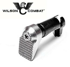 Wilson Combat - Oversized 1911 Mag Release Magazine Extended Stainless