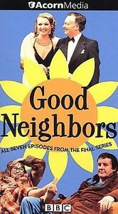 Good Neighbors (VHS video 2-Tape Set) BBC 7 episides final series