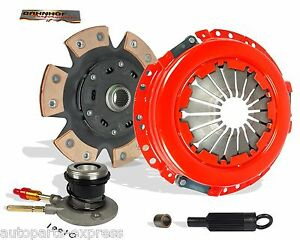 CLUTCH KIT AND SLAVE STG 2 FOR  96-02 CHEVY S10 GMC SONOMA 96-99 ISUZU HOMBRE