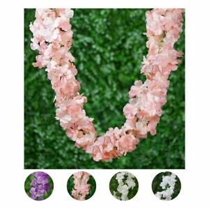 7 ft long 3D Chain Silk Hydrangea Wedding Party Garlands Flowers Decorations