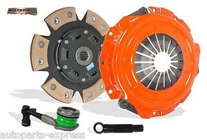 CLUTCH KIT STAGE 2 BAHNHOF WITH SLAVE FOR 99-02 CAVALIER ALERO SUNFIRE GRAND AM