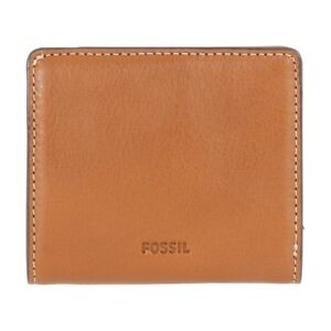 New Fossil Emma Ladies Brown Leather Wallet A1