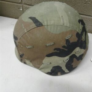 Vintage 1986-1987 Military Issue Army Infantry Helmet Pasgt W Kevlar Unicor Woo