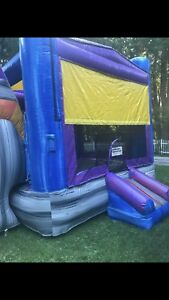 Commercial Bounce House Combo Slide WetDry 3 Separate Units Package Water Slide