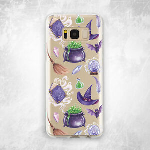 Halloween Cauldron Witchcraft Cute For Samsung Note 9 10 S8 S9 S10 Plus S10e S20