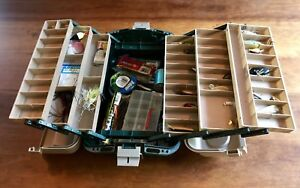 Plano 8600 Tackle Box Loaded With Fishing Lures and Tackle Plano Tackle Systems