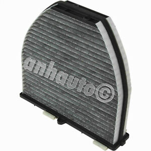 New CHARCOAL Cabin Air Filter for Mercedes 2128300318