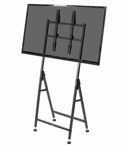 VIVO Black Indoor TV Display Floor Stand for 32