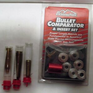 Stoney PointHornady Bullet Comparator Insert set  3 Case Lengths