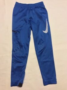 Nike Dry-Fit Therma Basketball Pants Size Boys XL Blue