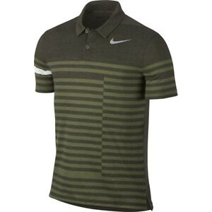 Nike Golf Modern Fit TR Dry 41 Printed Men's Polo Shirt Green  833081 325