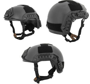 Lancer Tactical Simple Version Maritime ATH NVG Helmet in Black CA-849B