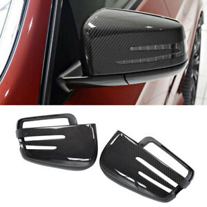 Replace Mirror Covers Cap for Mercedes Benz W463 G500 W166 ML350 GL350 Carbon $148.22