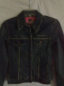 Fiorucci Vintage Small Women#x27;s Denim Jacket
