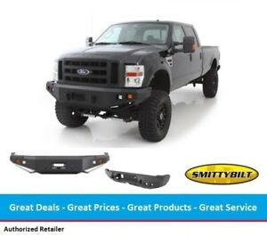 Smittybilt M1 Complete Front & Rear Bumper System for Ford Superduty F250  F350