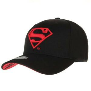 WITHMOONS Superman Shield Embroidery Cotton Baseball Cap AC3260