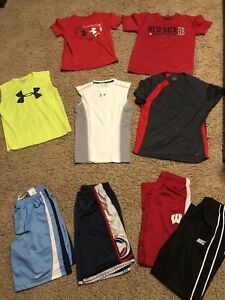 Boys UNDER ARMOUR (UA) NIKE Lot Size Youth Medium M - 8 Items in Total