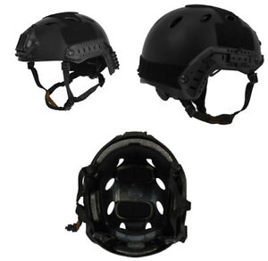 Lancer Tactical PJ Type Airsoft MilSim ATH Helmet in Black Large XL CA-725B