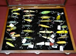 Collection of Antique Fishing Lures Heddon CCB South Bend & More