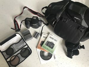 CANON EOS 50D DIGITAL SRL CAMERA  WITH BACKPACK CASE