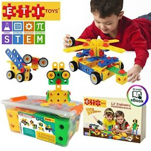 101 Piece Educational Construction Building Blocks Toys Set For Kids Toddlers