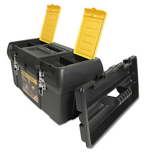 Stanley Series 2000 Toolbox w/Tray Two Lid Compartments 019151M