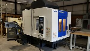 Brother R650X1 2017 very low hours CNC VMC pallet changer