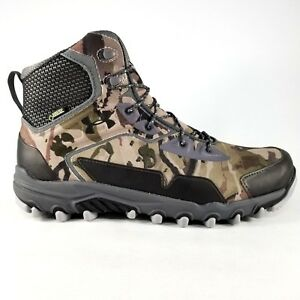 Under Armour UA Ridge Reaper Extreme GTX Boots Size 11 Mens Hiking Outdoor Camo