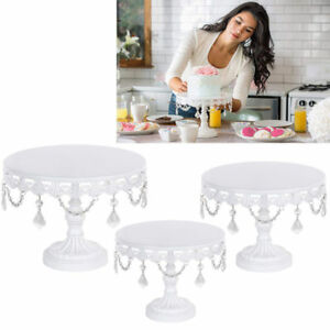 Cake Stand w Crystals 12