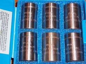MIDWAY Max Cartridge Case Gauge Set of 6 Common Revolver Calibers #578-2-63...RR