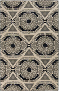 Surya Hand Knotted Kaleidoscope Neutral KAL-8004 Area Rug