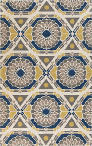 Surya Hand Knotted Kaleidoscope Neutral KAL-8003 Area Rug