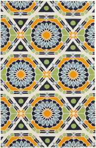 Surya Hand Knotted Kaleidoscope Neutral KAL-8002 Area Rug