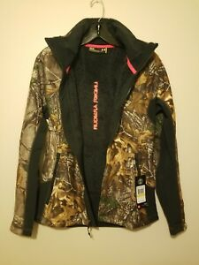 $150 Under Armour Mid Season Coat Jacket Realtree Xtra Hunting Scent Control New