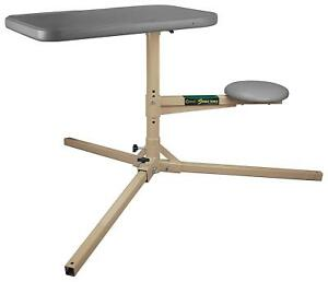 Caldwell Stable Table With 360 Degree Rotation And Weatherproof Synthetic Top Fo