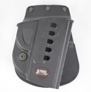 Fobus 250 SND Black Hard  Police Gun Duty Holster Black  RH Right