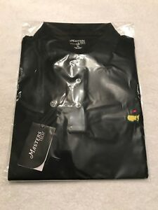 Masters Tech Augusta National Black Shirt New Free Shipping XL Dri Fit Golf