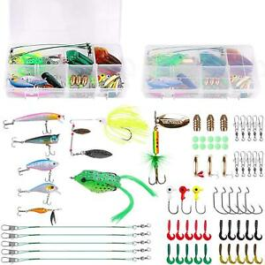 Fishing Lures Baits Tackle Including Crankbaits Spinnerbaits Plastic