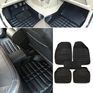 Universal Car Floor Mats Front amp; Rear FloorLiner All Weather Waterproof Carpet