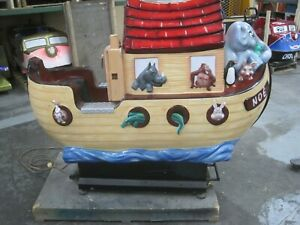 Noah's Arc   Coin Operated Ride Amusement Collectible Antique Kiddie