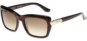 Salvatore Ferragamo Women's Designer Sunglasses SF763S 214 - Made In Italy
