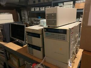 Hitachi 7000 HPLC with Data System L-7200 Autosampler L-7400 UVVIS detector +