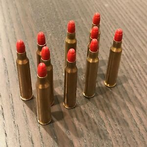 223 SNAP CAPS RED BULLETS DUMMY TRAINING ROUNDS SET OF 10
