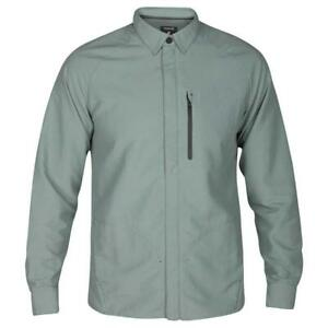 Hurley Men's Forge DWR (Durable, Water-Repellent) Jacket - Clay Green