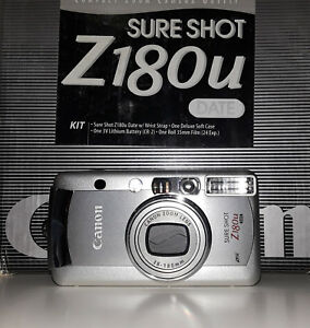 Canon Sure Shot Z180u Date 35mm Film Camera (BRAND NEW!)
