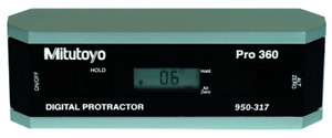 Mitutoyo 950 317 Digital Protractor Precision Level Without Data Output $409.99