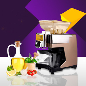 Home use hot&cold multi-function peanut soybean sesame cooking oil press machine