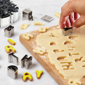26xset Stainless Steel Cake Cookie Biscuit Cutter DIY Mould Pastry Baking Tools