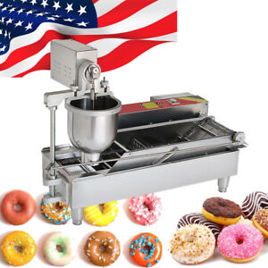 3 MOLD COMMERCIAL AUTOMATIC DONUT MAKER MAKING MACHINE COFFEE SHOP RESTAURANT
